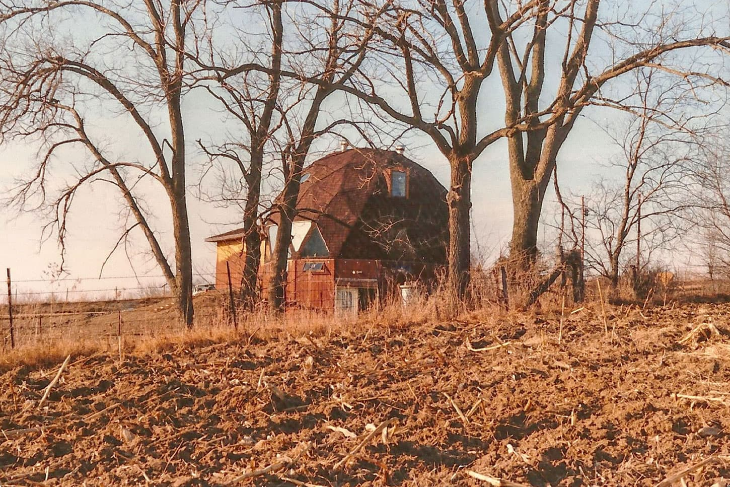 Dome home in Sherrill, Iowa