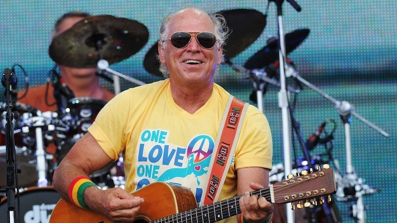 Jimmy Buffett on stage