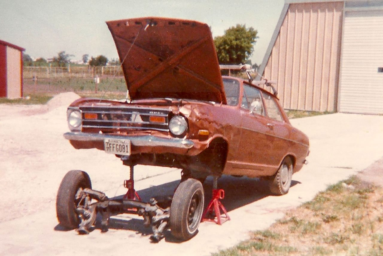 I rebuilt the engine in my Opel 1972 1900 - and it ran!