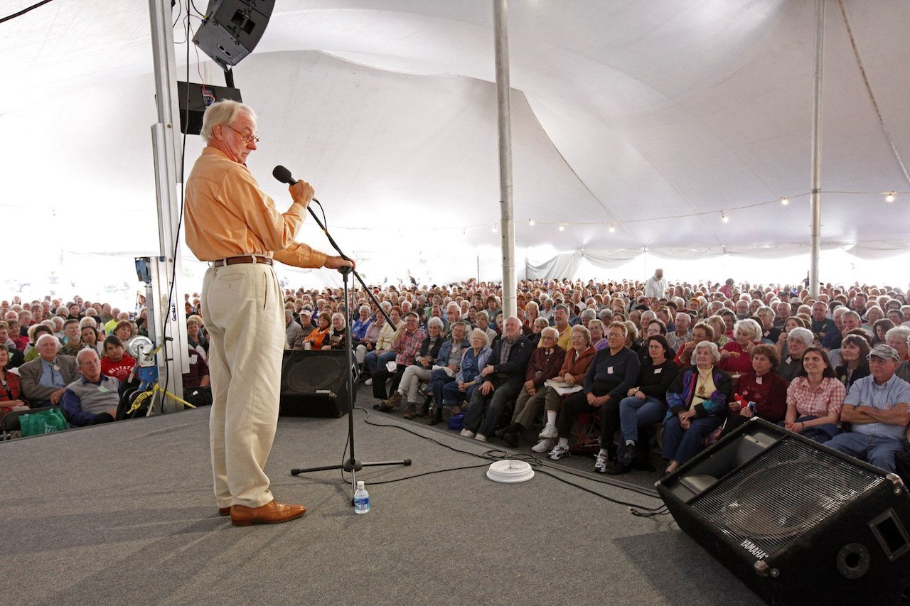 Donald Davis at the National Storytelling Festival