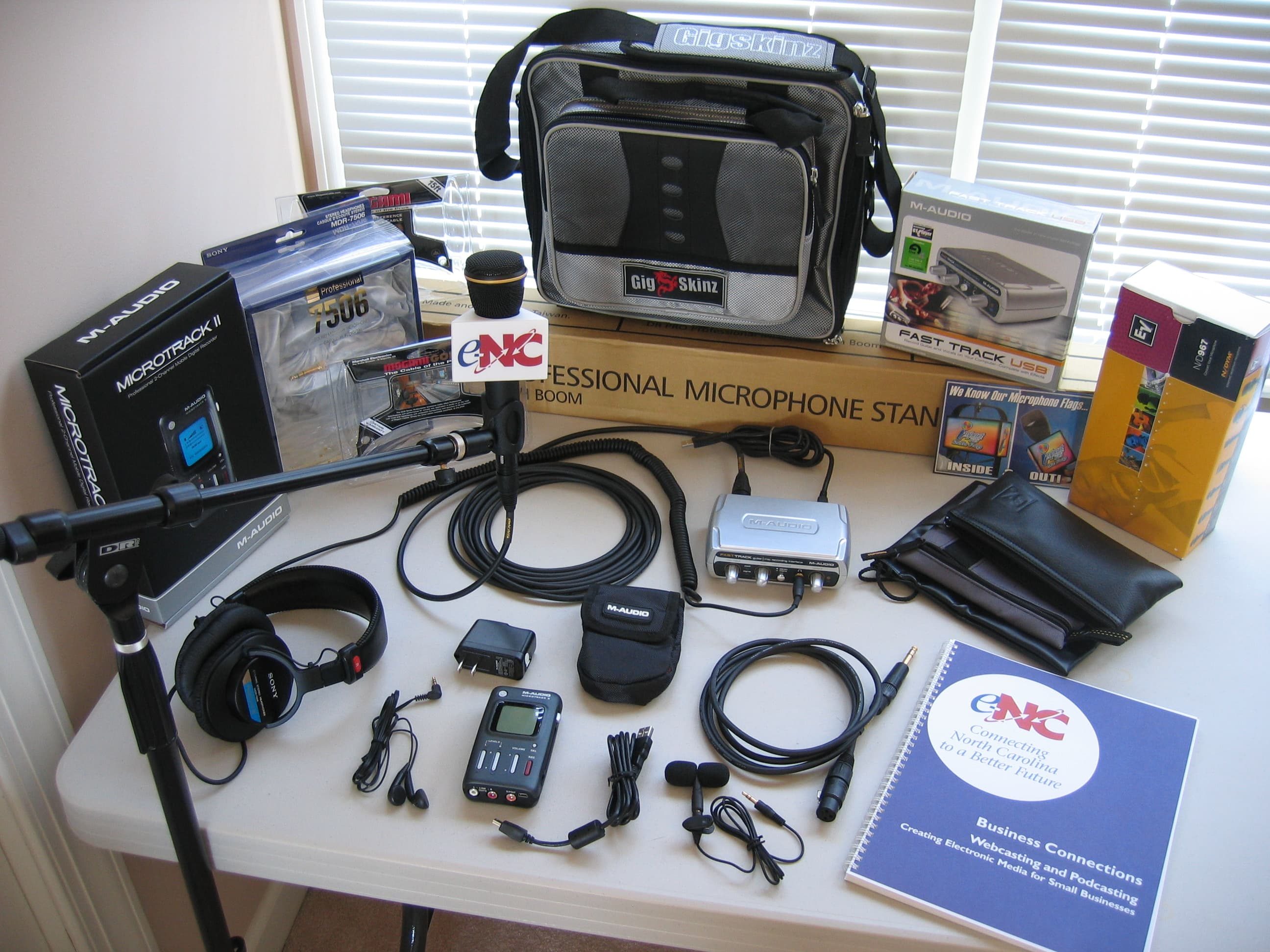 SEICT podcasting kit giveaway