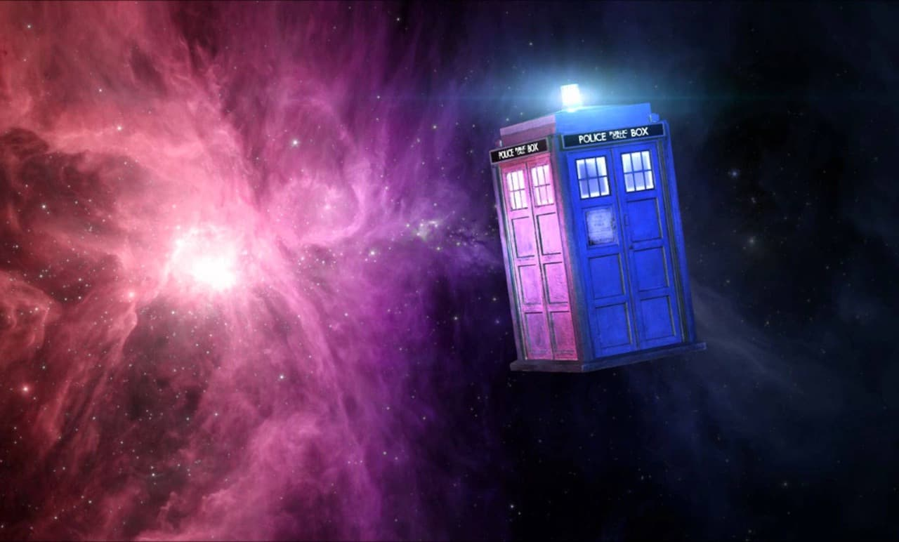 Dr. Who - Tardis in space/time